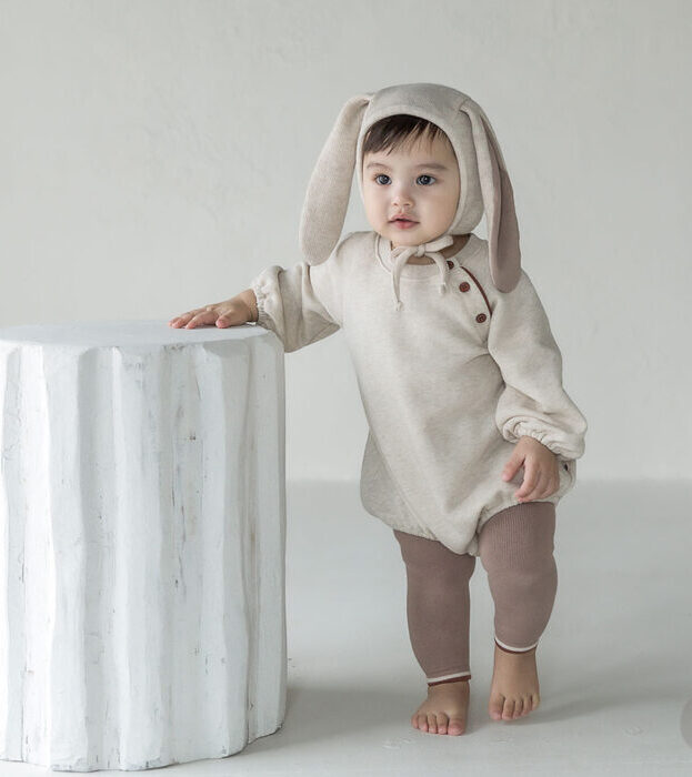 Toddler in Hugme Overall