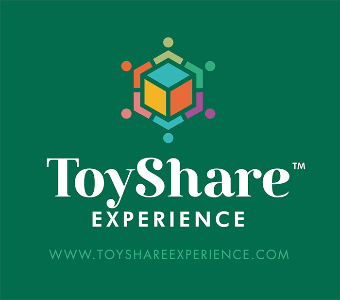 logo toy share experience
